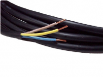 5metre cutting of 3 core 1.5mm H07RN-F rubber flexible cable